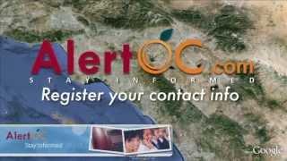AlertOC Public Service Announcement - Full Version
