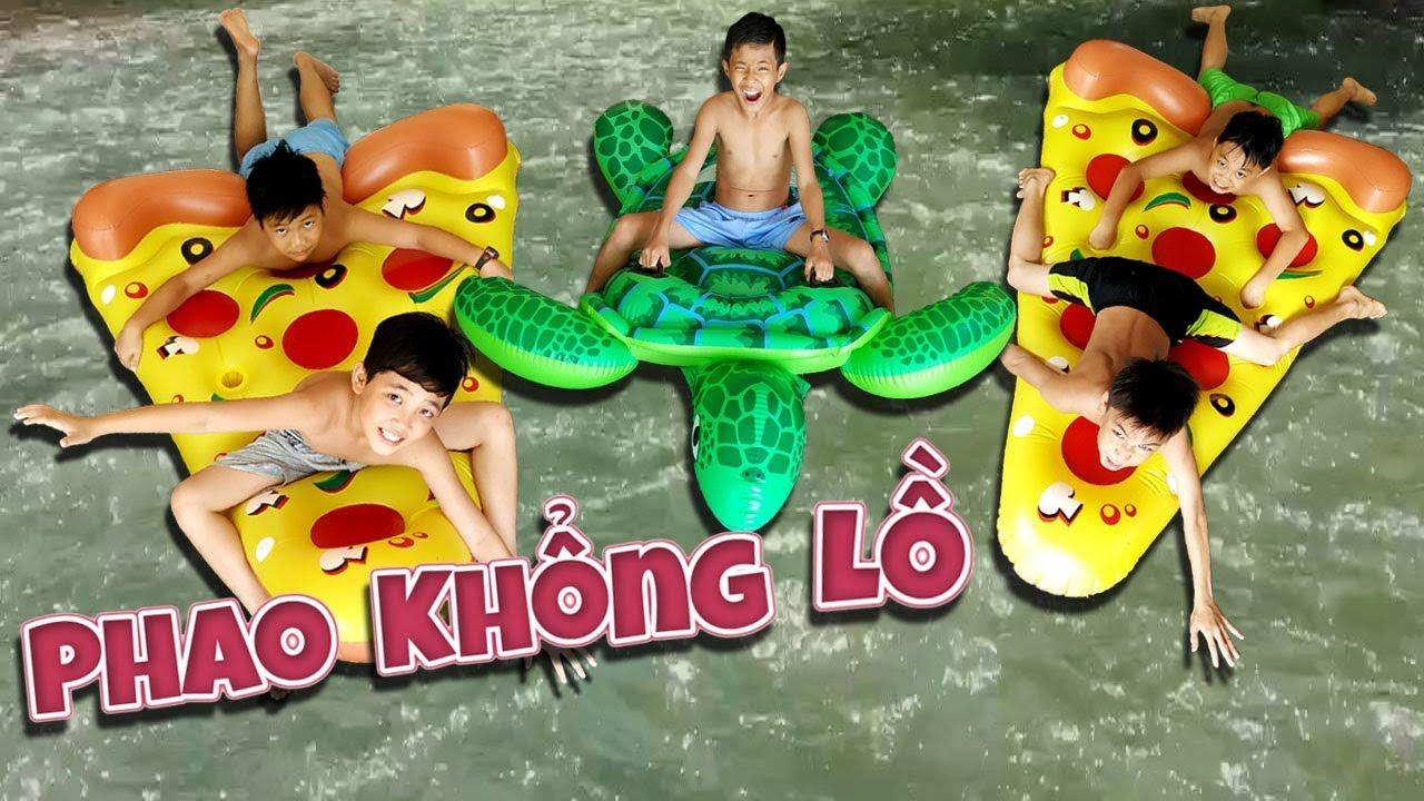 Tony   Thử Chơi PHAO KHỔNG LỒ Trên Sông – Float Battle
