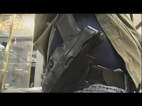 VIDEO: Passage of gun bill to make conceal carry permits valid across state lines