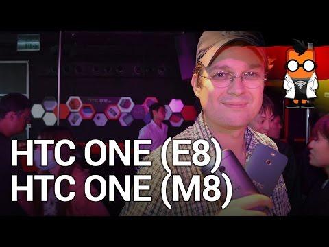 HTC One E8 Hands On und Kurztest - Vergleich mit HTC One M8 [Deutsch]