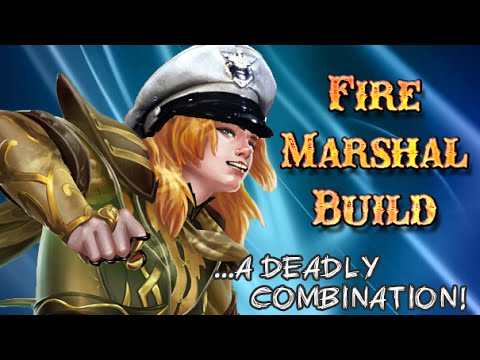 Fire Marshal Build in Season 3 Joust - Smite PTS 3v3 joust