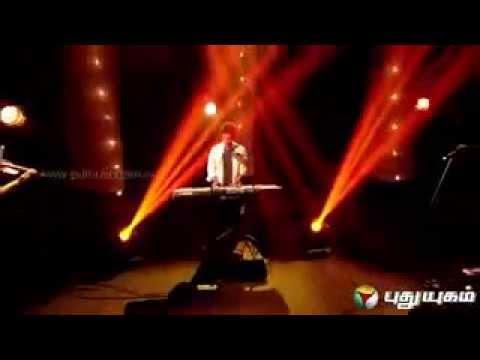 Anirudh Unplugged show