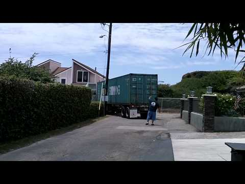 China Shipping Container Arrives!