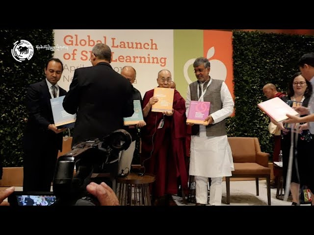 Dalai Lama launches global curriculum to educate the heart and the mind