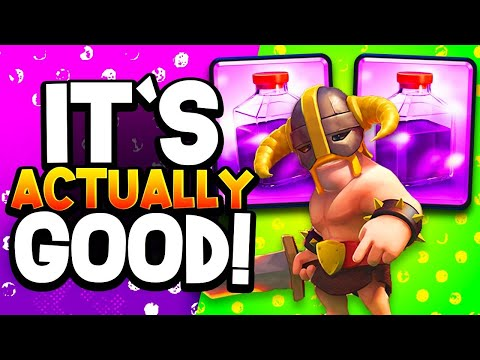 The 1st EBARBS + RAGE Deck That's Actually OP!