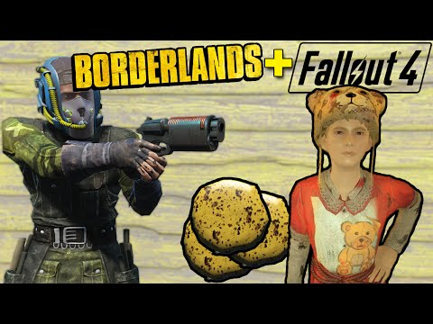 Fallout 4 - BORDERLANDS in FALLOUT - Tina's CookiePocolypse Part 1