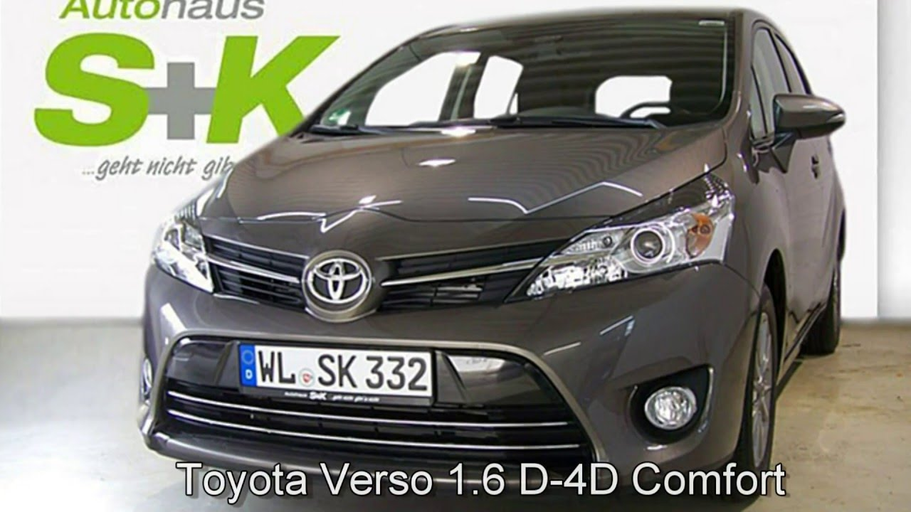 toyota verso d 4d comfort plus 041120 platinum bronze autohaus s k neu wulmstorf youtube. Black Bedroom Furniture Sets. Home Design Ideas