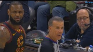 LeBron James Curses at Refs After Getting Frustrated with Bad Calls! thumbnail