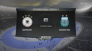 (PS4) FIFA 15 | Germany vs Argentina - Next-Gen Full Gameplay (1080p HD)