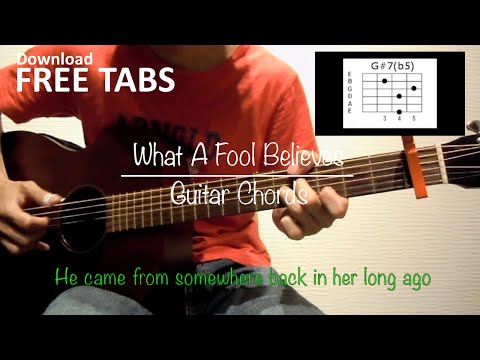 What A Fool Believes (The Doobie Brothers) - Guitar Chords / Takashi Terada