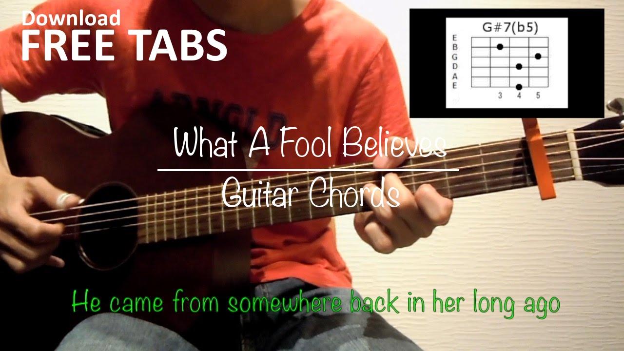 What a fool believes the doobie brothers guitar chords what a fool believes the doobie brothers guitar chords takashi terada hexwebz Choice Image