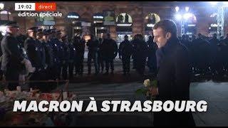 À Strasbourg, l'hommage de Macron aux victimes de l'attentat