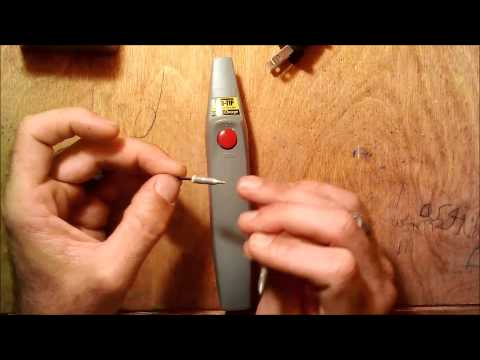iso tip 7700 cordless soldering iron review youtube. Black Bedroom Furniture Sets. Home Design Ideas