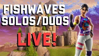 V BUCKS GIVEAWAY | SOLOS & DUOS | ITEM SHOP COUNTDOWN FORTNITE LIVE