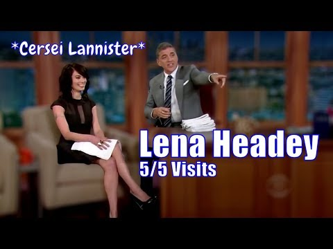 Lena Headey - Aka Cersei Of House Lannister - 5/5 Appearances In Chron. Order [HD]