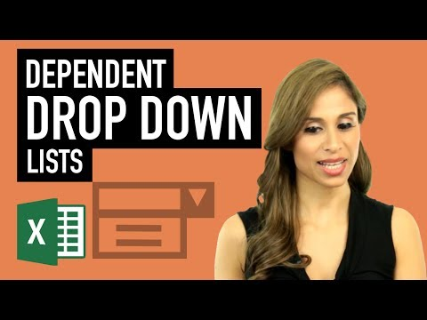 Excel: Dependent Drop Down Lists with OFFSET, CHOOSE, INDEX & INDIRECT