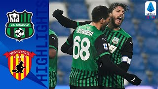 Domenico berardi scored the only goal of game as sassuolo beat benevento 1-0 to go second in league | serie a timthis is official channel for the...
