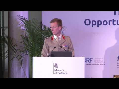 #IndiaUK | Address by Lt. Gen. Mark Poffley, Deputy Chief of the Defence Staff (Military Capability)