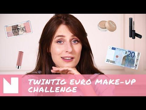 Twintig euro Make-up Challenge: Essence, Catrice etc
