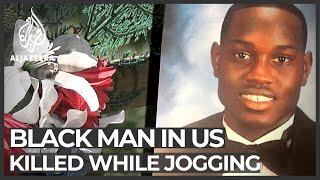 US: Video shows Black man <b>Ahmaud Arbery</b> gunned down while ...