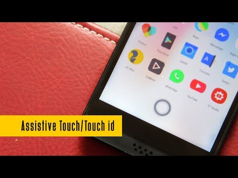 New Best Assistive Touch / IPhone Touch ID On Any Android (Gesture Include)