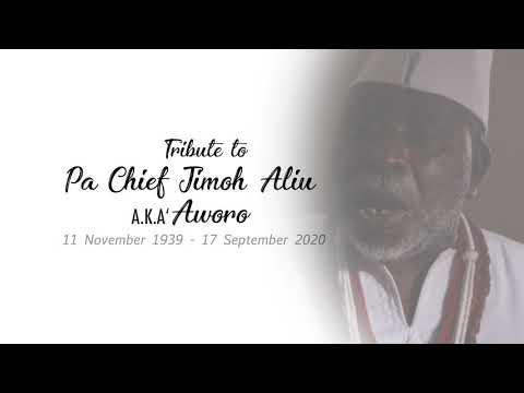 Download TRIBUTE TO CHIEF JIMOH ALIU AKA AWORO