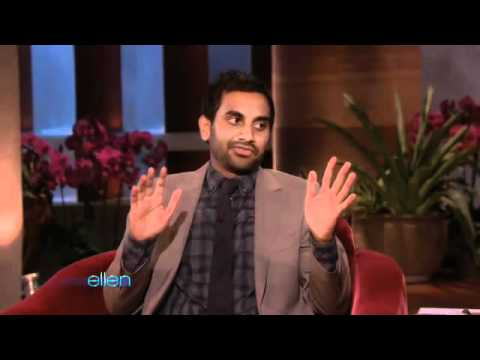 Aziz Ansari Keeps Ellen Laughing