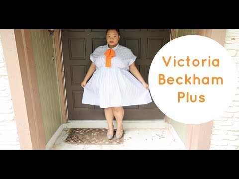 Victoria Beckham Plus Size Haul & Try-on | Spring 2017 | Edyn Jacks