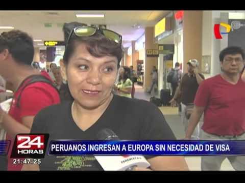 Desde hoy peruanos pueden viajar sin visa a 30 países de Europa (2/2)