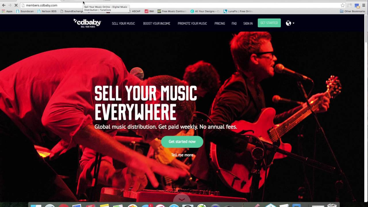 Collecting Publishing (Tunecore,cdbaby)