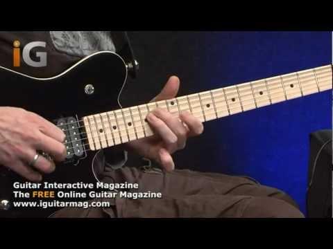 Ernie Ball Musicman Reflex Game Changer Guitar Demo Review - Guitar Interactive Magazine