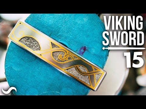 MAKING A VIKING SWORD!!! Part 15
