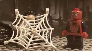 Lego Batman: Robin Meets Spiderman