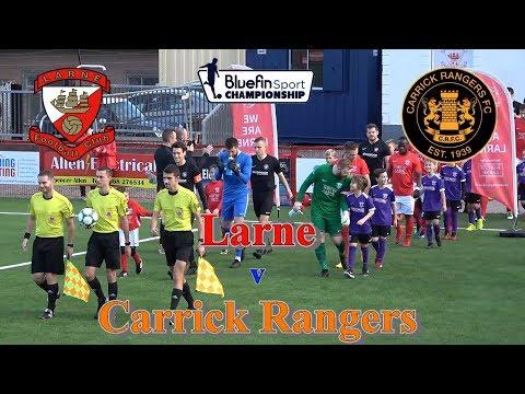Larne 4-0 Carrick Rangers