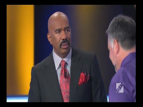 Steve Harvey Kills On Family Feud # 4 - Beating a Dead Horse