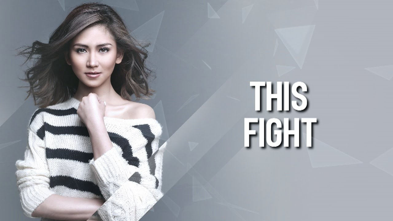Sarah Geronimo — This Fight (Official lyric video) - YouTube