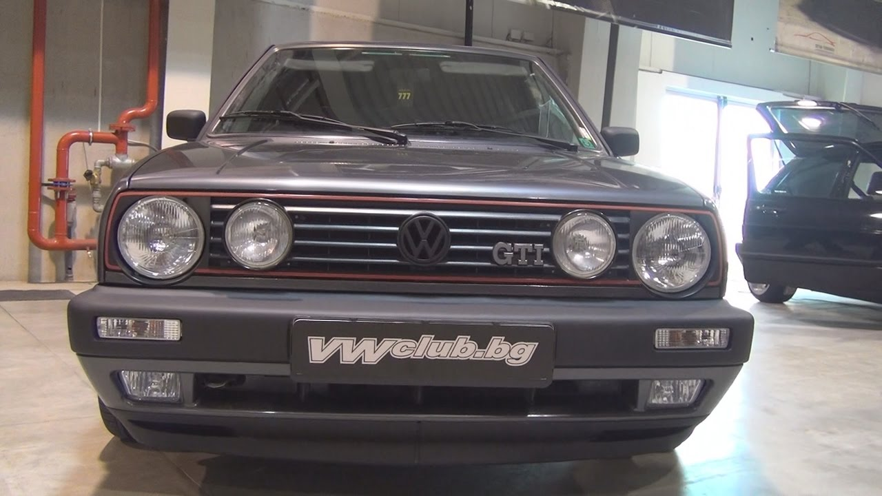 volkswagen golf ii 1 8 gti 1991 exterior and interior in. Black Bedroom Furniture Sets. Home Design Ideas