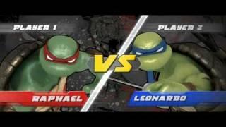 Teenage Mutant Ninja Turtles  Smash-Up - Nintendo Wii