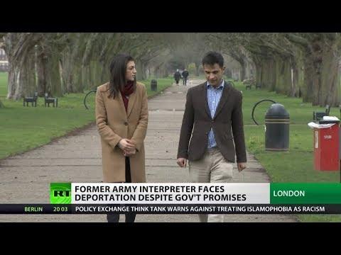Former Army Interpreter faces deportation despite gov't promises