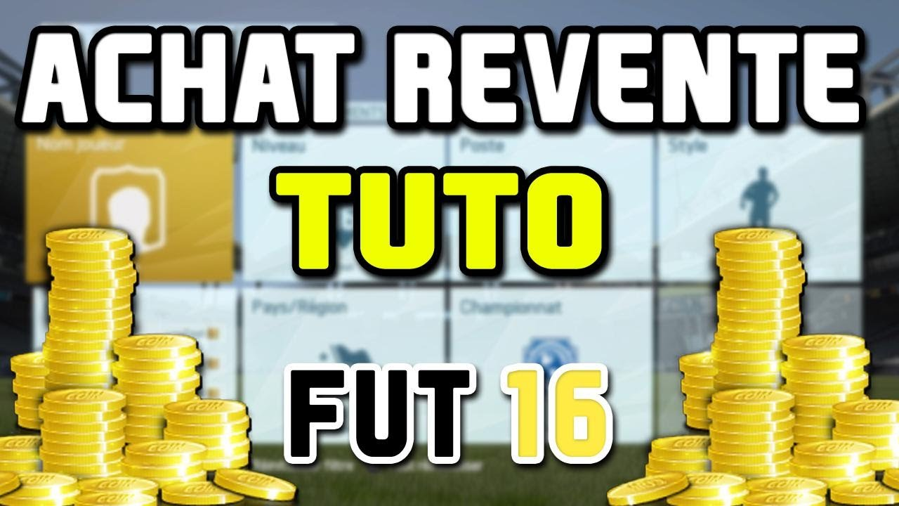 fifa 16 fut 16 achat revente avoir plein de credit grace a la tech millionnaire youtube. Black Bedroom Furniture Sets. Home Design Ideas