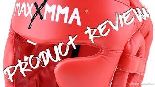 MaxxMMA Full Coverage Headgear Boxing MMA Training Kickboxing Spar Karate Taekwondo - Full Review