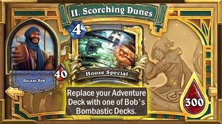 Hearthstone: Infinite Damage And Mana Combo   Playing Bob's Secret Bombastic Deck   Tombs of Terror