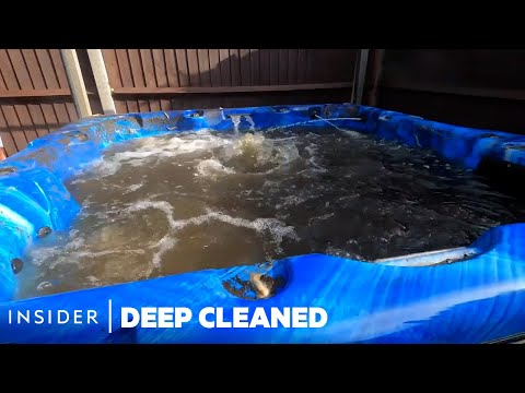 How Hot Tubs Are Professionally Cleaned | Deep Cleaned