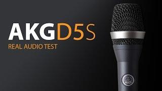 AKG D5S, A Closet, & Focusrite Scarlett Solo Test / Review