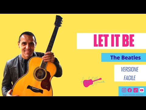 Let It Be Easy Guitar Lesson The Beatles Youtube