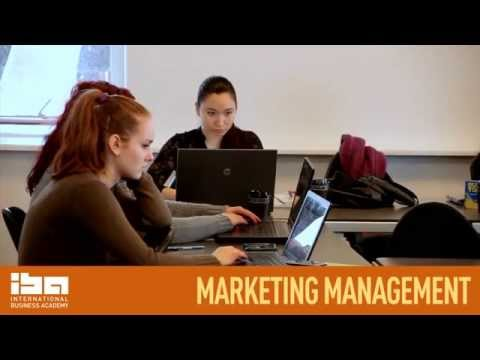 Marketing Management at IBA International Business Academy in Kolding