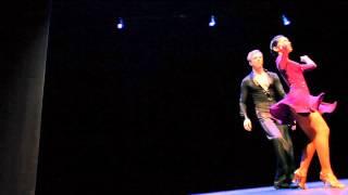Bailando Por Una Causa 2012 - Ahtoy WonPat-Borja and Daniel Enskat