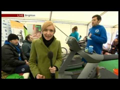 Dans Dare World Record Distance Run On A Treadmill