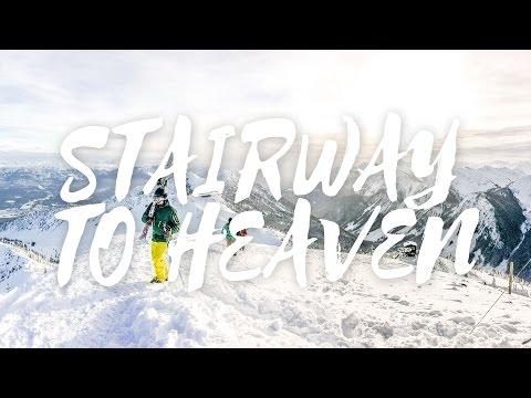 STAIRWAY TO HEAVEN!! Kicking Horse, BC