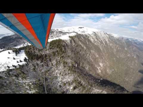 Amazing Hang Gliding In Bassano!